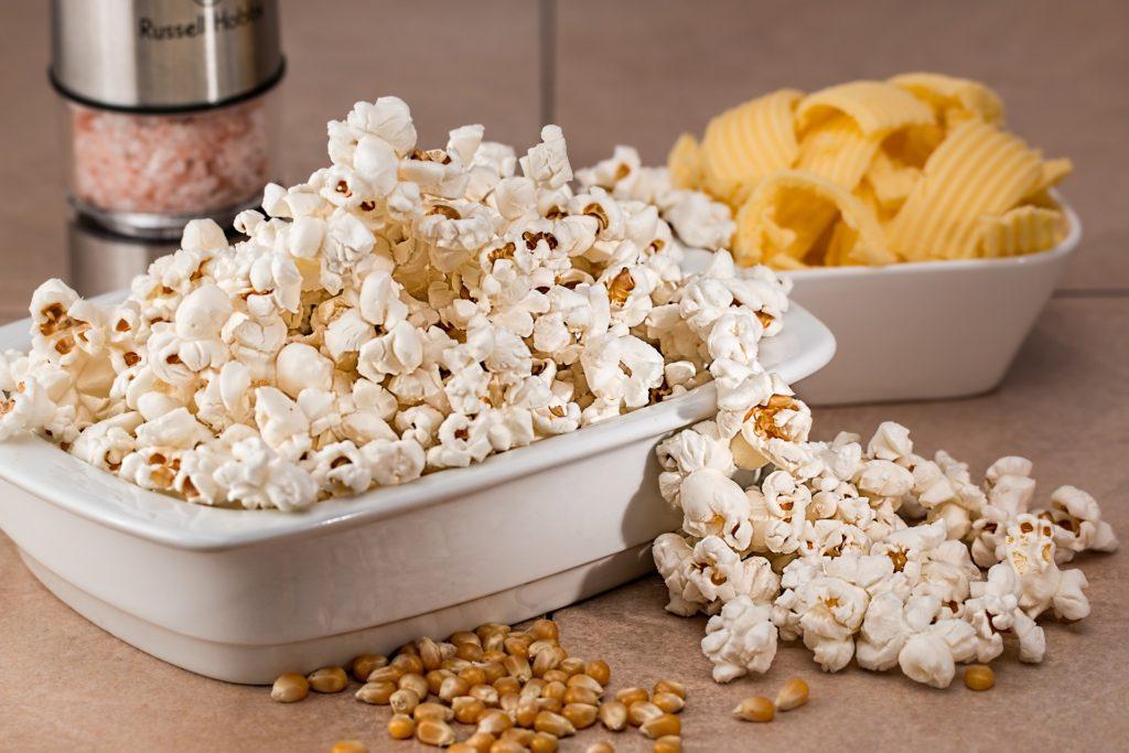 Så mange kalorier er der i popcorn