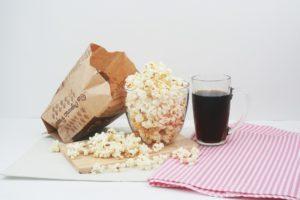 Cola og popcorn
