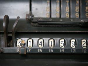Tallet pi kan udregnes på flere måder
