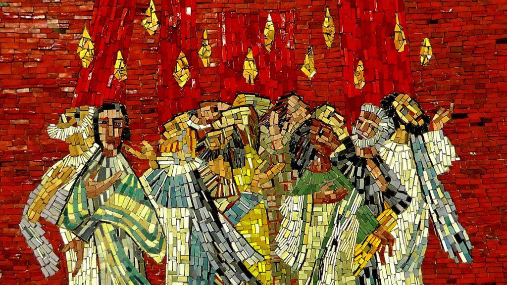 Pentecost Pinse Mosaic
