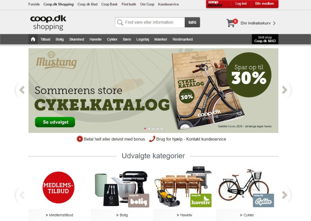 Coop.dk - Online shopping