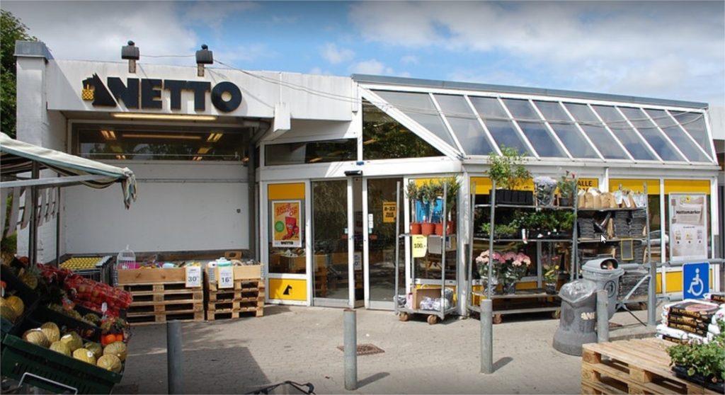 En typisk Netto butik