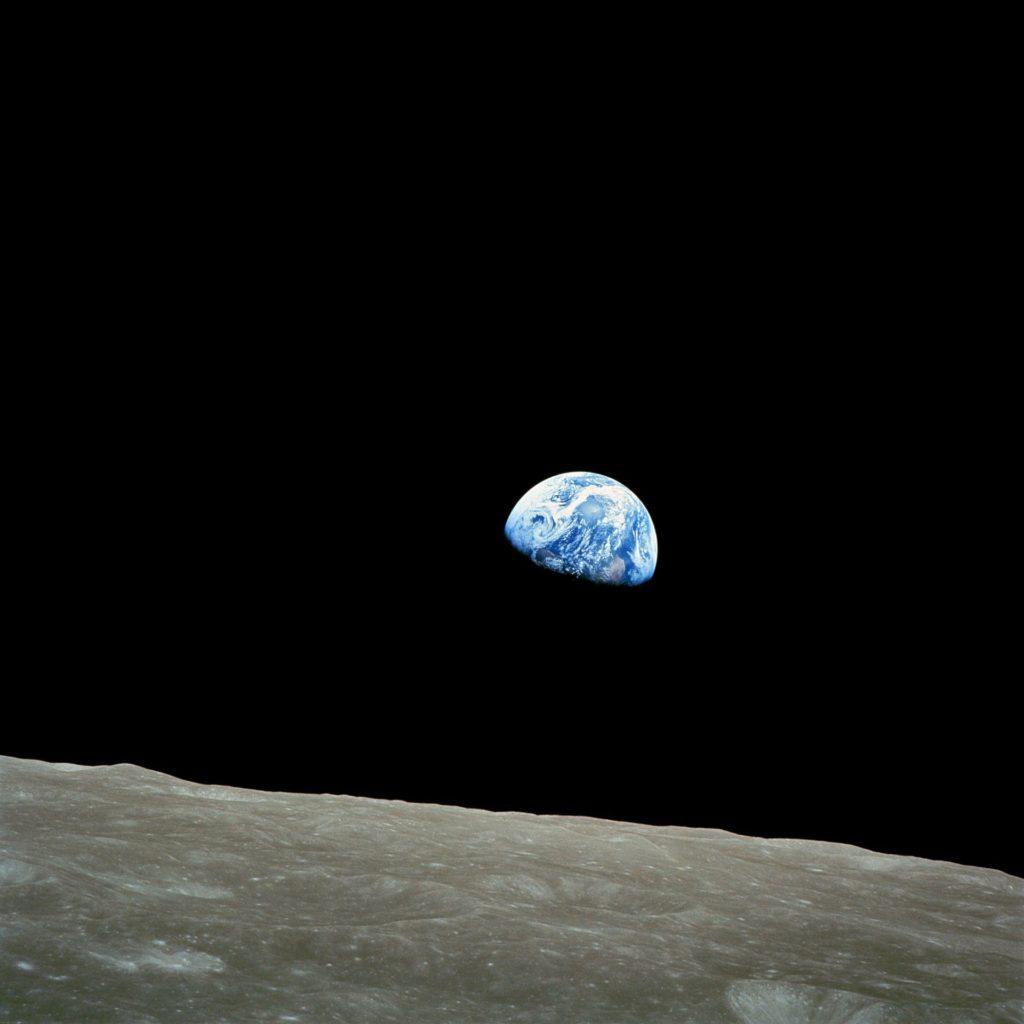 Jorden set frå månen