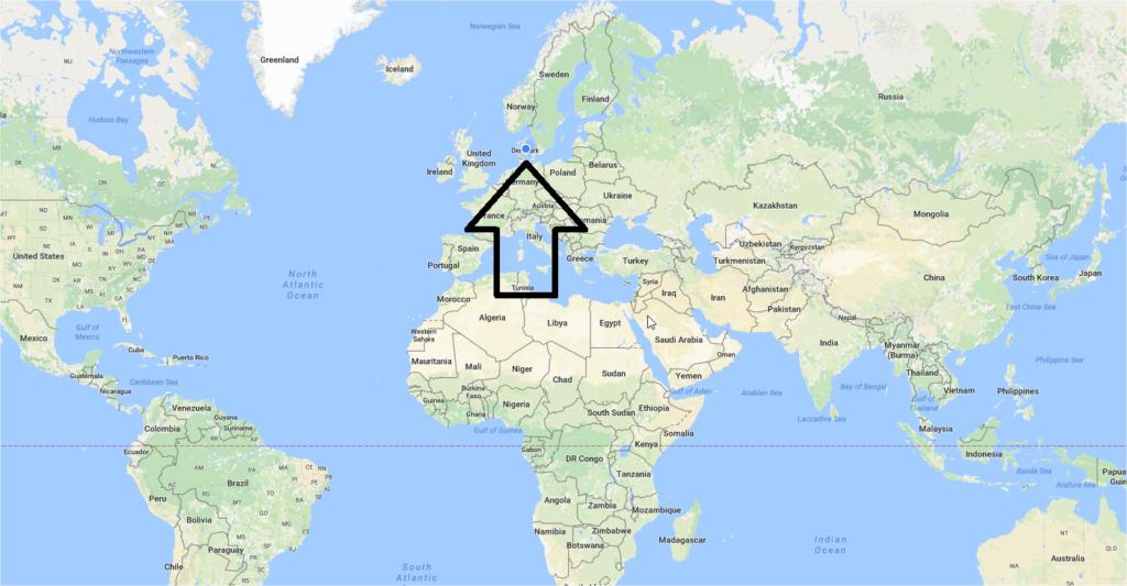 Danmark Verden