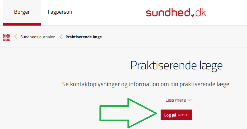 Praktiserende læge - sundhed.dk – Google Chrome
