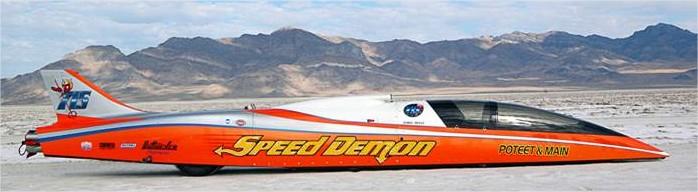 SpeedDemon Breaks World Land Speed Record - Dry Lakes Racers Australia – Google Chrome