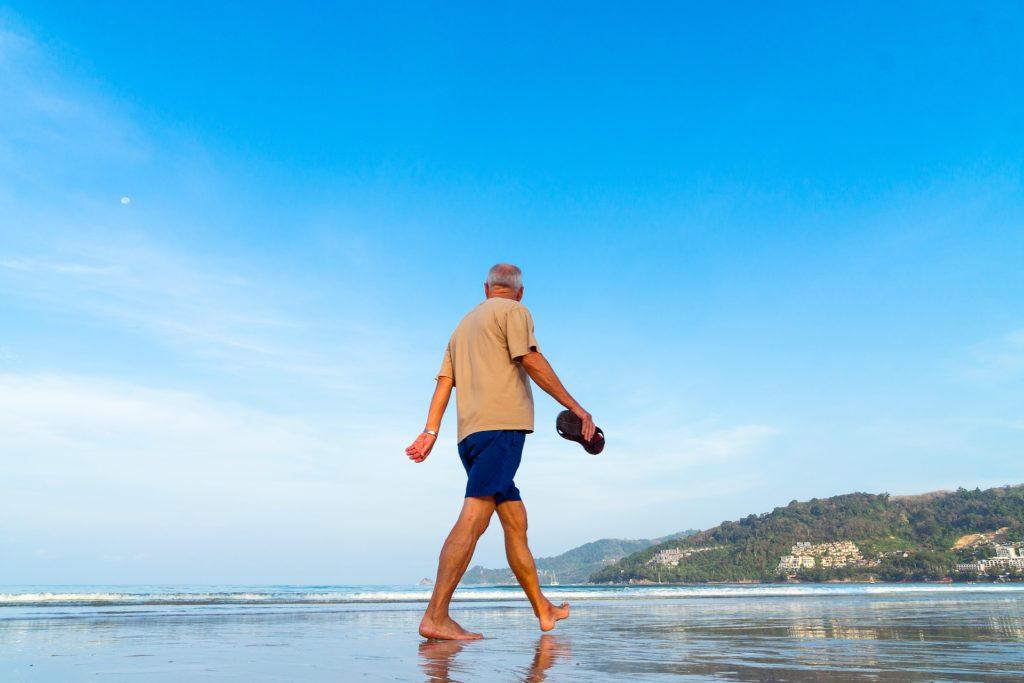 strand pension alder gammel