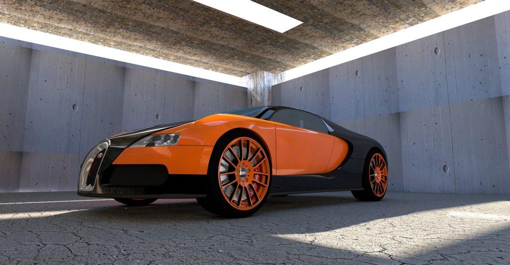 Bugatti Veyron Super Sporter verdens hurtigste bil. Den kan køre 268 ... altså miles per hour. Det er431 km/t.