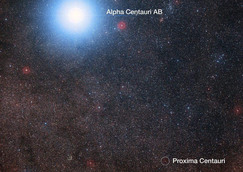 Proxima og Alpha Centauri