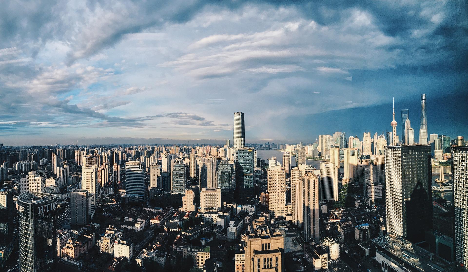 Shanghai by skyline