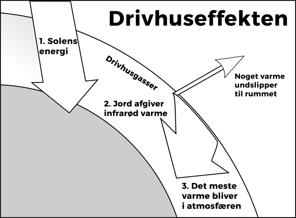 drivhus diagram