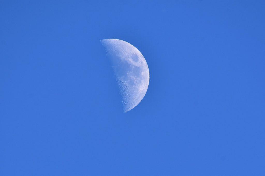 måne sol lys