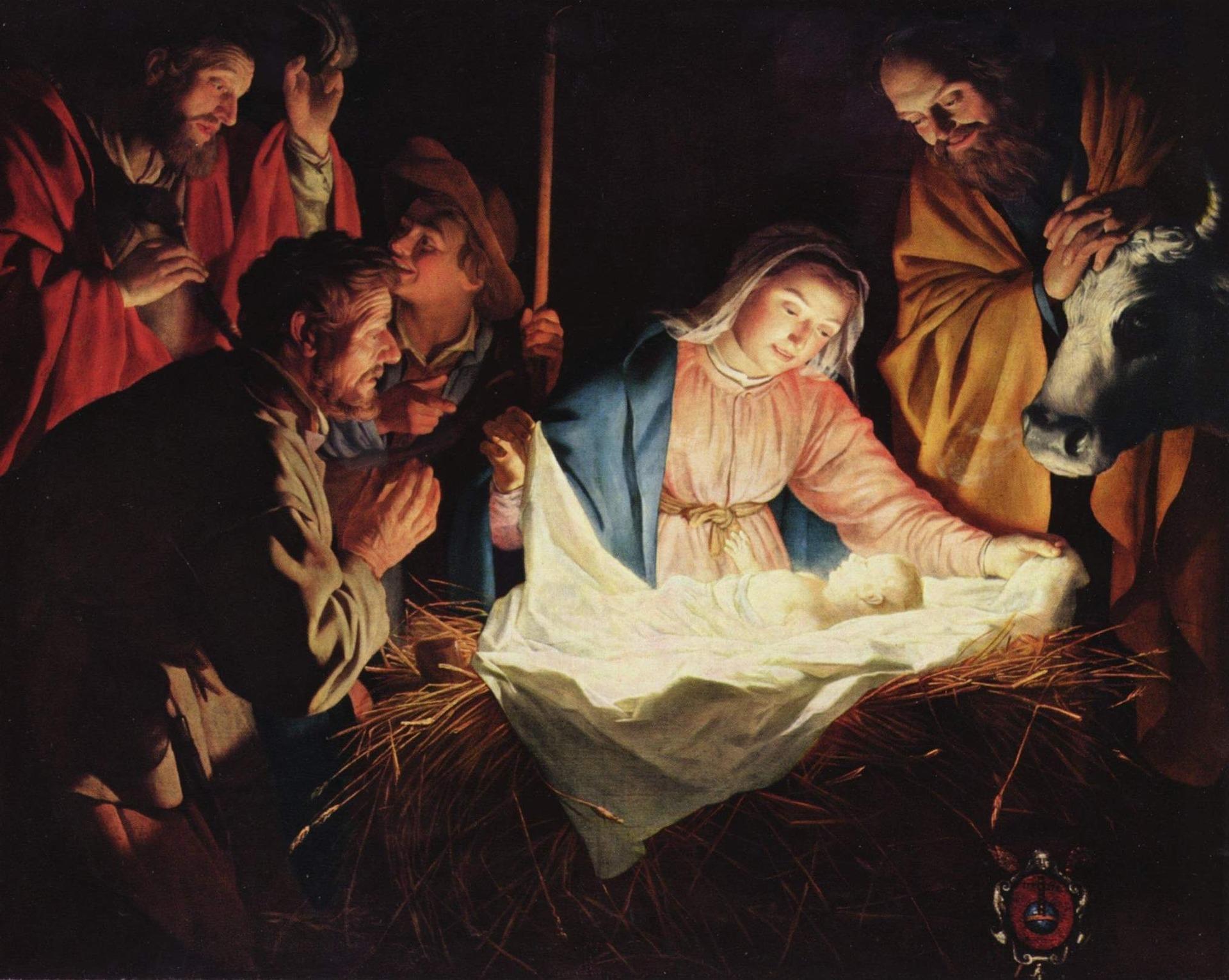 Jul Jesus Maria Fødsel Baby Barn