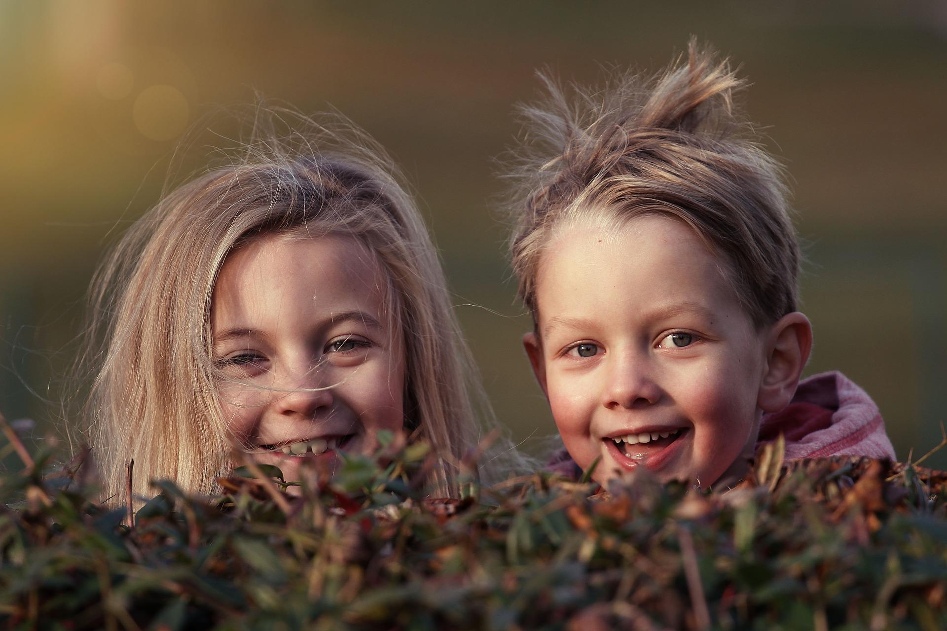 Børn piger lege