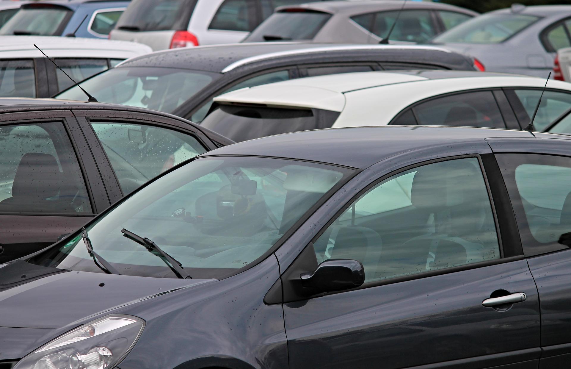 parkering bil biler